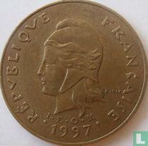 Frans-Polynesië 100 francs 1997
