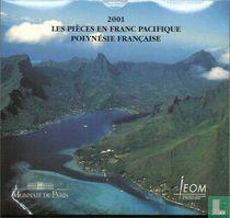 Frans-Polynesië jaarset 2001