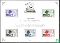 Frans erfgoed in postzegels