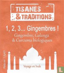 1, 2, 3... Gingembres !