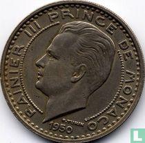 Monaco 100 francs 1950