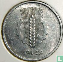 DDR 1 pfennig 1949 (A)