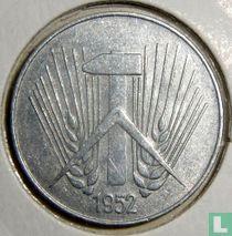 DDR 10 pfennig 1952 (A)