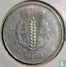 DDR 10 pfennig 1950 (E)