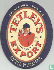Tetley's export