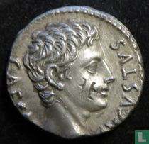 Romeinse Rijk, AR Denarius, 18 BC,( Colonia Patria)