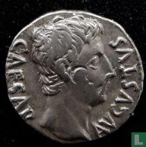 Romeinse Rijk, denarius, Augustus,CIVIS SERVATOS