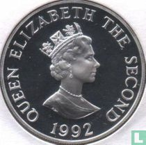 "Alderney 2 pounds 1992 (PROOF - silver) ""40th anniversary Accession of Queen Elizabeth II"""