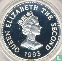"Alderney 1 pound 1993 (PROOF) ""40th anniversary Coronation of Queen Elizabeth II"""