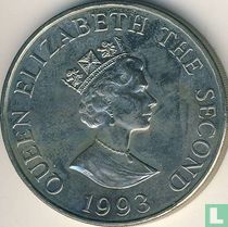 "Alderney 2 pounds 1993 ""40th anniversary Coronation of Queen Elizabeth II"""