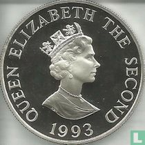 "Alderney 2 pounds 1993 (PROOF) ""40th anniversary Coronation of Queen Elizabeth II"""