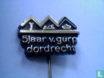 5 jaar v. Gurp Dordrecht [zwart]