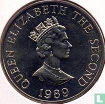"""Alderney 2 pounds 1989 """"Royal Visit"""""""