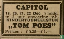Kindertooneelstuk Tom Poes Capitol