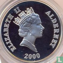 "Alderney 5 pounds 2000 (PROOF) ""60th anniversary of the Battle of Britain"""