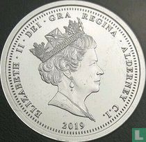 "Alderney 1 pound 2019 (PROOF) ""50th anniversary of Concorde's first flight"""
