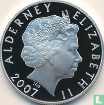 "Alderney 5 pounds 2007 (PROOF) ""10th anniversary Death of Princess Diana"""