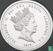 "Alderney 1 pound 2019 (PROOF) ""200th anniversary of the birth of Queen Victoria"""