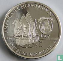 "Cuba 10 pesos 1996 (PROOF) ""America the New World - Amerigo Vespucci"""