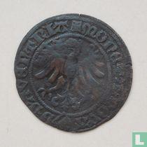 Deventer halve stuiver 1523