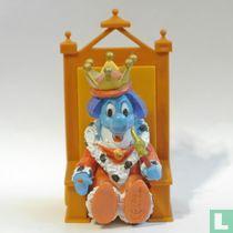 Dolfi als koning
