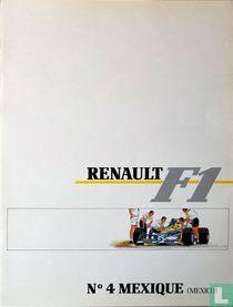 Renault F1 Mexique