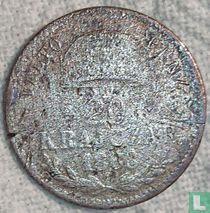 """Hongarije 20 krajczar 1868 (KB) """"váltó pénz"""""""