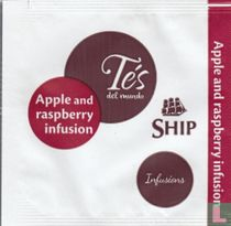 Apple and raspberry infusion