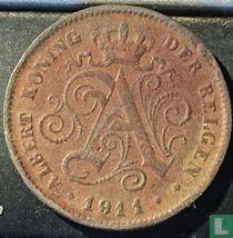 België 2 centimes 1911 (NLD - datum 1.2mm)