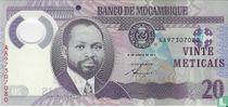 MOZAMBIQUE  20 Meticais 2011