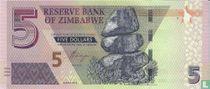 Zimbabwe 5 Dollars  2019
