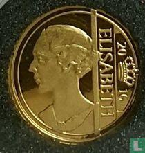 """Belgium 12½ euro 2016 (PROOF) """"Queen Elisabeth"""""""