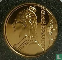 """Belgium 12½ euro 2017 (PROOF) """"Queen Marie-Henriette"""""""