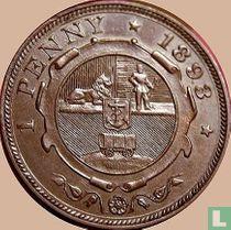 Afrique du Sud 1 penny 1893