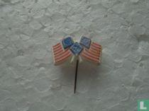 Vlag Amerika / Europa  76