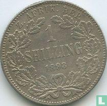 Afrique du Sud 1 shilling 1893