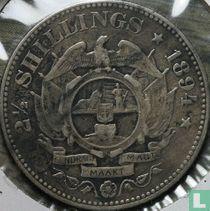 Afrique du Sud 2½ shillings 1894