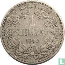 Afrique du Sud 1 shilling 1892