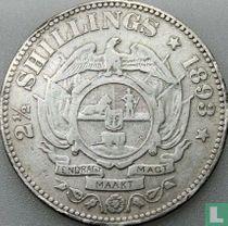 Afrique du Sud 2½ shillings 1893