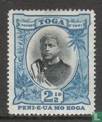 King George Tupou II - without fraction bar.