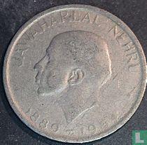 "India 50 paise 1964 (Calcutta - Engelse legende) ""Death of Jawaharlal Nehru"""