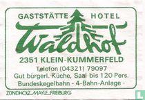 Gaststätte Hotel Waldhof