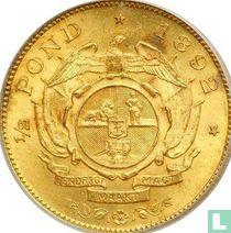 Afrique du Sud ½ pond 1892