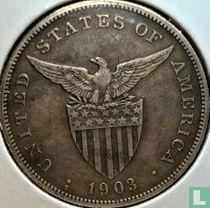 Filipijnen 1 peso 1903 (S)