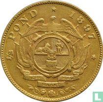 Zuid-Afrika ½ pond 1897