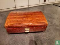 Krokodillenprint koffertje