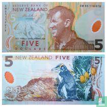 Nieuw-Zeeland 5 Dollars 2005