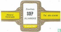 Familiale Soup Rumbeke - Honoré Verstraete - Tel. 051-21682