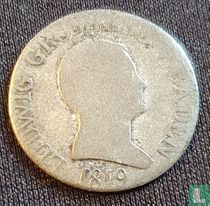Baden 6 kreuzer 1819