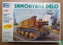 Verkeer Duits artillerievoertuig